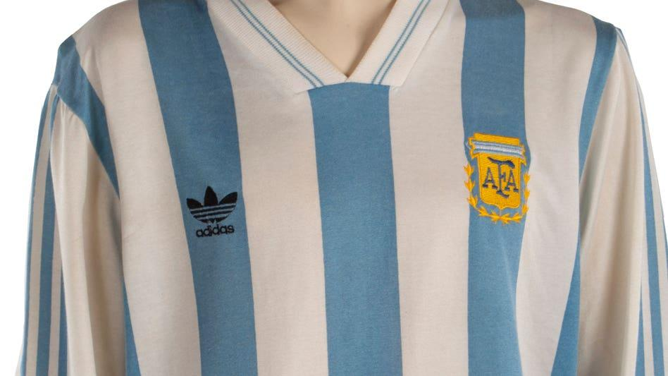 Boots and shirts worn by Maradona among trove of sports ...