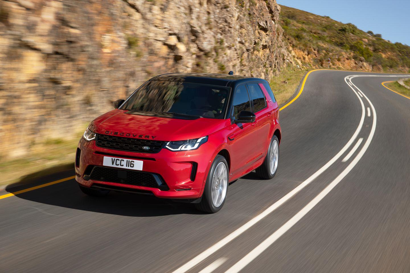 2020 Land Rover Discovery Is Built On The New Architecture >> View Photos Of The 2020 Land Rover Discovery Sport