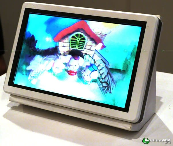 Sharp's 3D tablet panel doesn't require glasses, RGBY 3D TVs launching this summer do