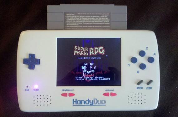 Modder loveablechevy completes HandyDuo, her two year quest for portable NES and SNES bliss (video)