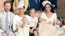 Archie's Christening Photos Are So Much Like the Cambridge Children's Portraits