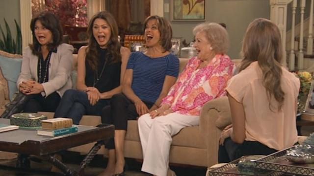 'Hot in Cleveland' Stars Hope They Don't 'Screw Up' Live Episode