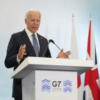 Biden emphasizes U.S. leadership in conflicts with autocrats