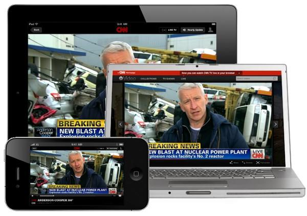 Cnn Starts Streaming 24 Hours Of News Online And On Your Iphone Engadget