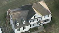 Raw: Aerials of Lanza Home in Newtown, Conn.