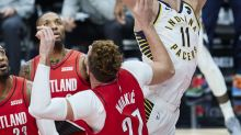 Sabonis has 23 pts, 15 boards as Pacers down Blazers 111-87