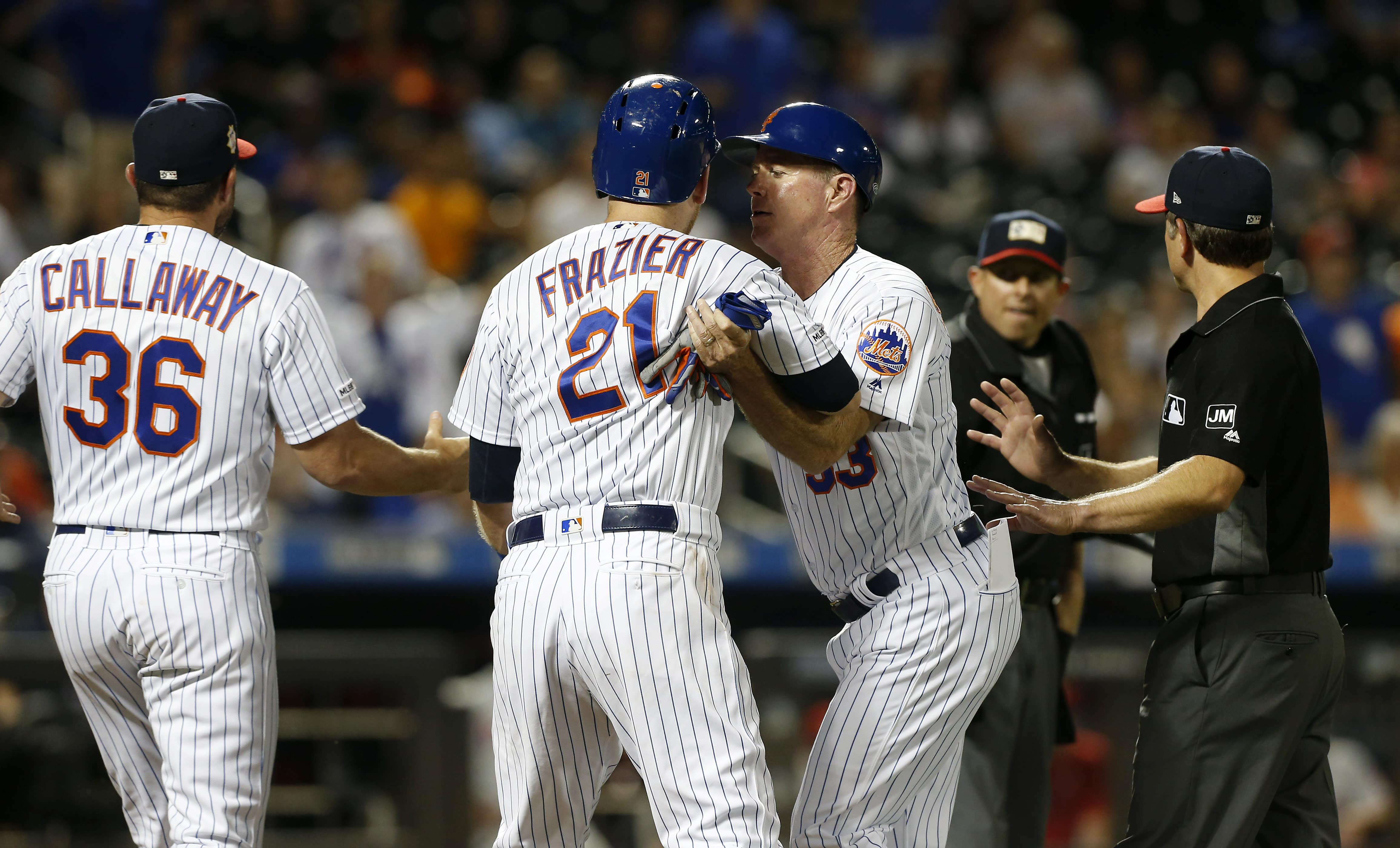 Jake Arrieta threatens to 'dent' Todd Frazier's skull following heated exchange