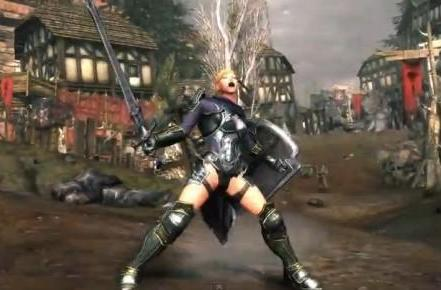 Neverwinter's Guardian Fighter gets her 80s montage sequence