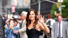 Jennifer Garner Stuns in Lace Dress While Out in NYC -- See the Sexy Style!