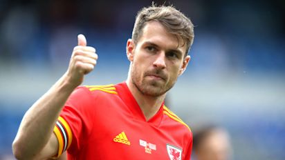 Aaron Ramsey sits out Wales training but says he is fine for Euro 2020 opener