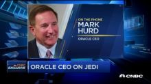 Watch CNBC's exclusive interview with Oracle CEO Mark Hur...