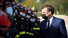 Tempête Alex:Emmanuel Macron annonce la signature de l'arrêté de catastrophe naturelle depuis les Alpes-Maritimes