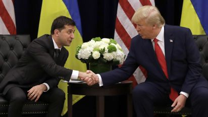 Zelensky responds to Trump's corruption claims