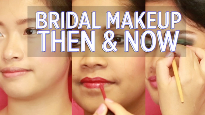 WATCH: Bridal makeup in Singapore through the years