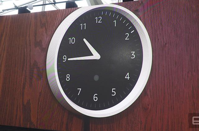 There's even an Alexa-enabled Amazon wall clock