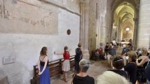 """""""Comment on s'est glissés dans le site de l'abbaye"""" : Alain Goudard et ses incroyables Percussions de Treffort revisitent le patrimoine à Ambronay"""