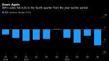 IBM Sales Decline Across All Units, Sending Shares Tumbling