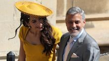 Amal Clooney: La mejor vestida de la boda de Harry y Meghan
