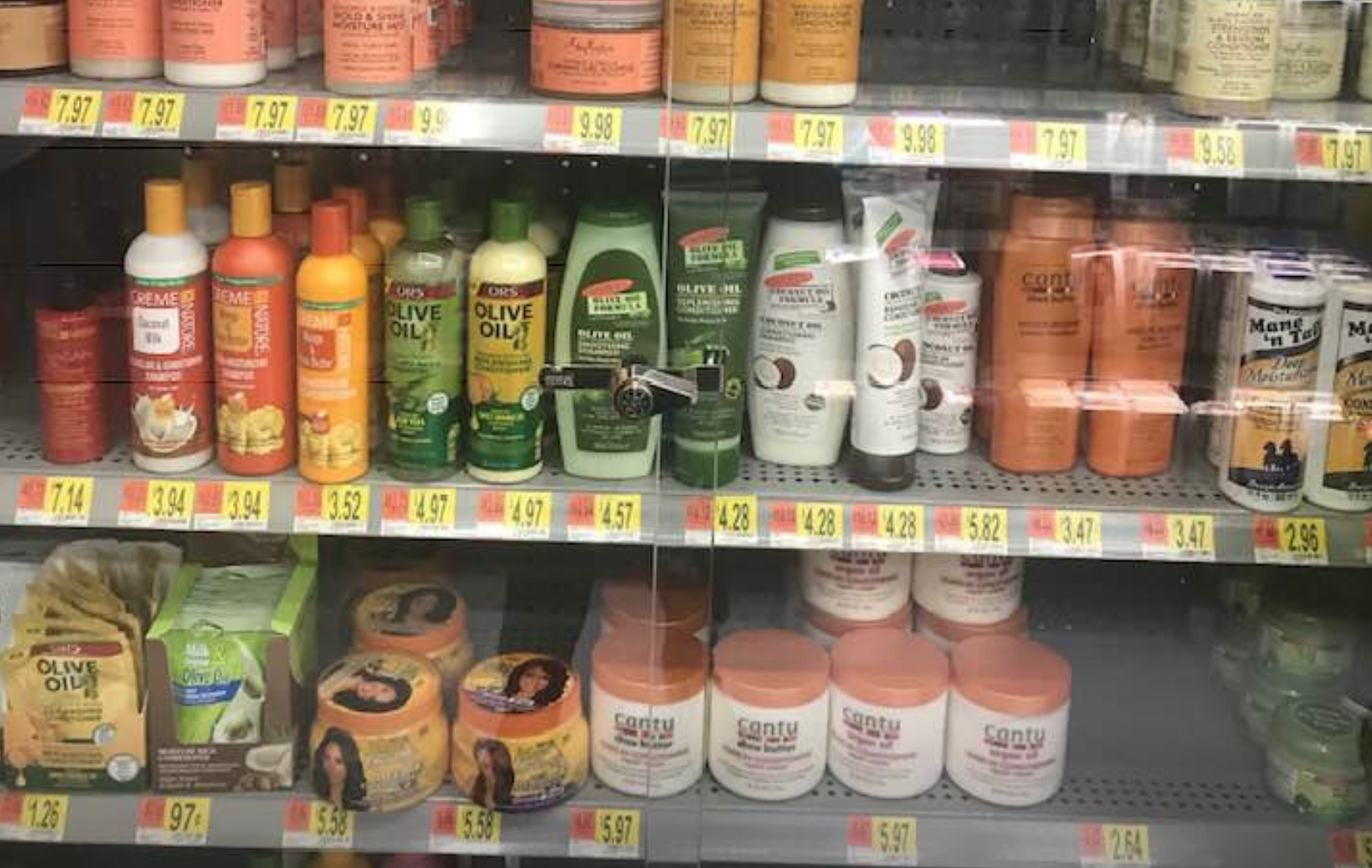 Walmart Removes Locks From Black Hair Care Products