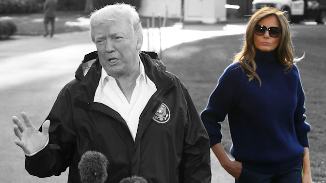 The reluctant First Lady: Charting Melania Trump's first year in the White House