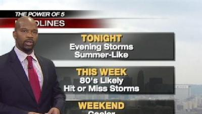 Storm Watch In Effect Until 8 p.m.