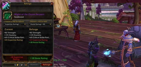 Lichborne: Death knight regemming and reforging for patch 4.0.1