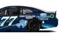 Diamond Creek Water Sponsors Justin Haley at the NASCAR Dixie Vodka 400