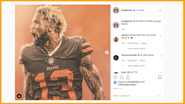 The Rush Lebron Doesn T Want Obj As A House Guest
