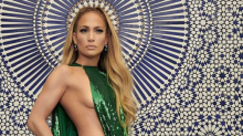 Jennifer Lopez flaunts her curves like never before in a piece of sequin fabric: 'I've taken care of myself, and now it shows.'