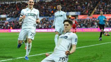 Swansea vs Brentford result: Daniel James steers Swans into FA Cup quarter-finals
