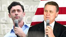 In close Georgia Senate race, challenger Ossoff calls Perdue a 'crook' over stock trades
