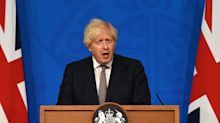 Boris Johnson does not rule out return of COVID restrictions as he sets out 'freedom day' plans