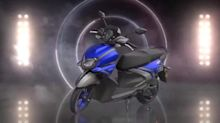 Yamaha RayZR 125 scooter, with hybrid tech, revealed in India