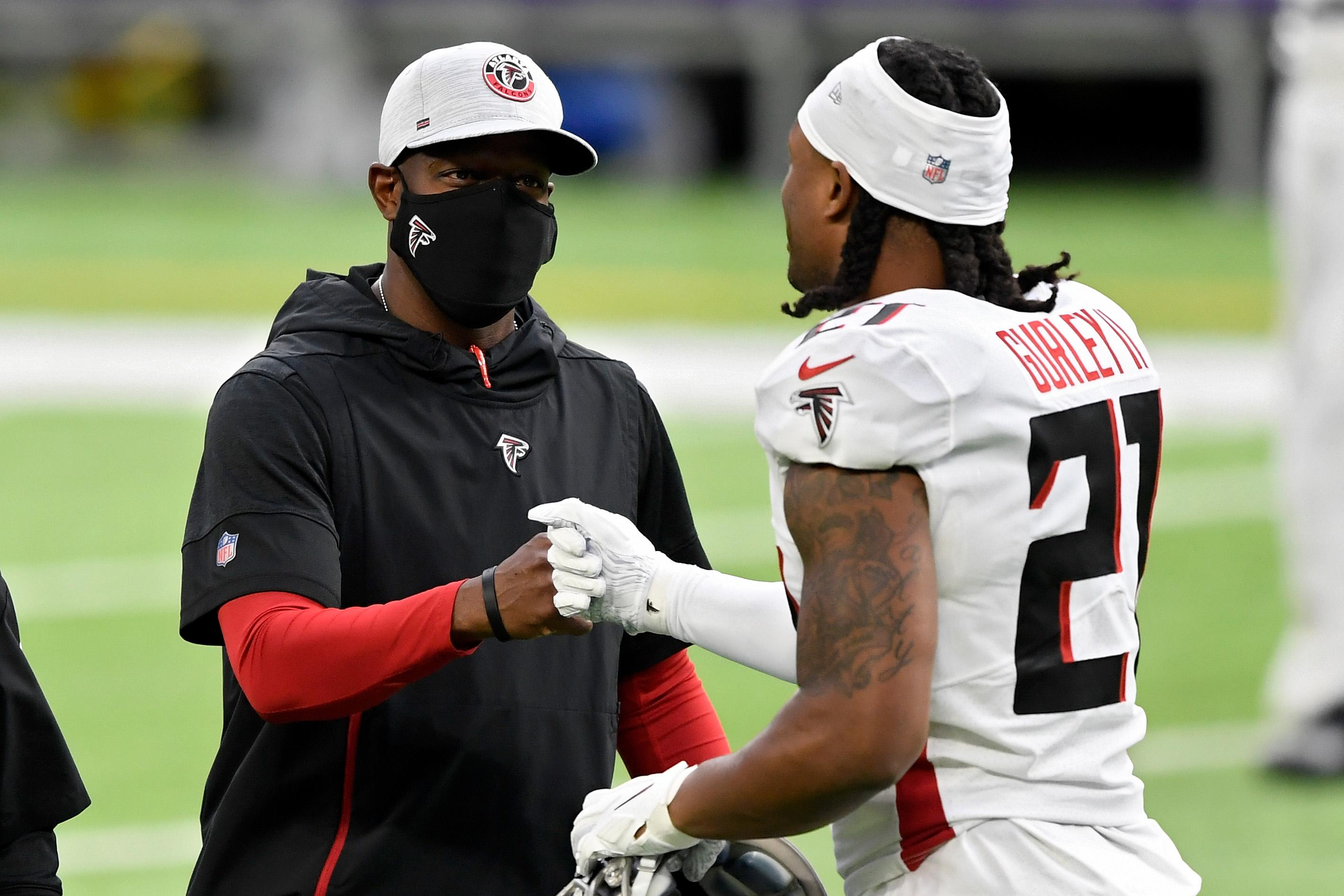 Atlanta's Raheem Morris wins his first battle against the impossibly high bar for Black NFL head coaches