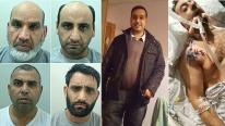 Four jailed for 'vicious' machete murder