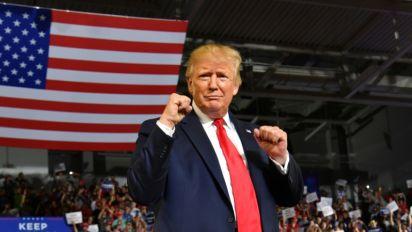 """Polémique sur un meeting Trump, une élue le traite de """"fasciste"""""""