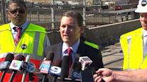 RAW: CTA official says train crash `extremely rare occurrence`