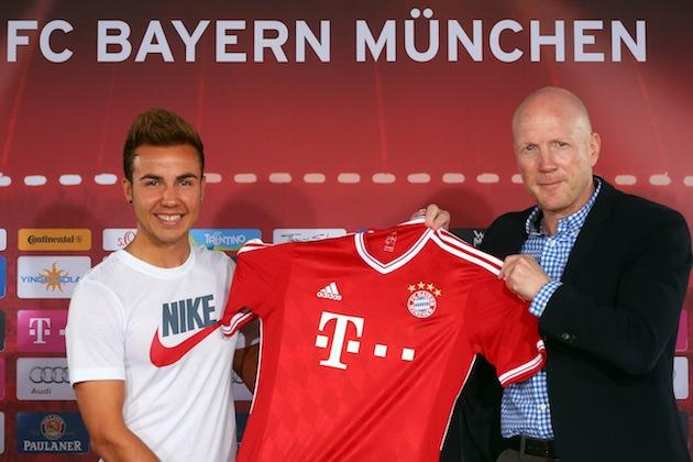 Bayern Munich apologize to Adidas for new players wearing