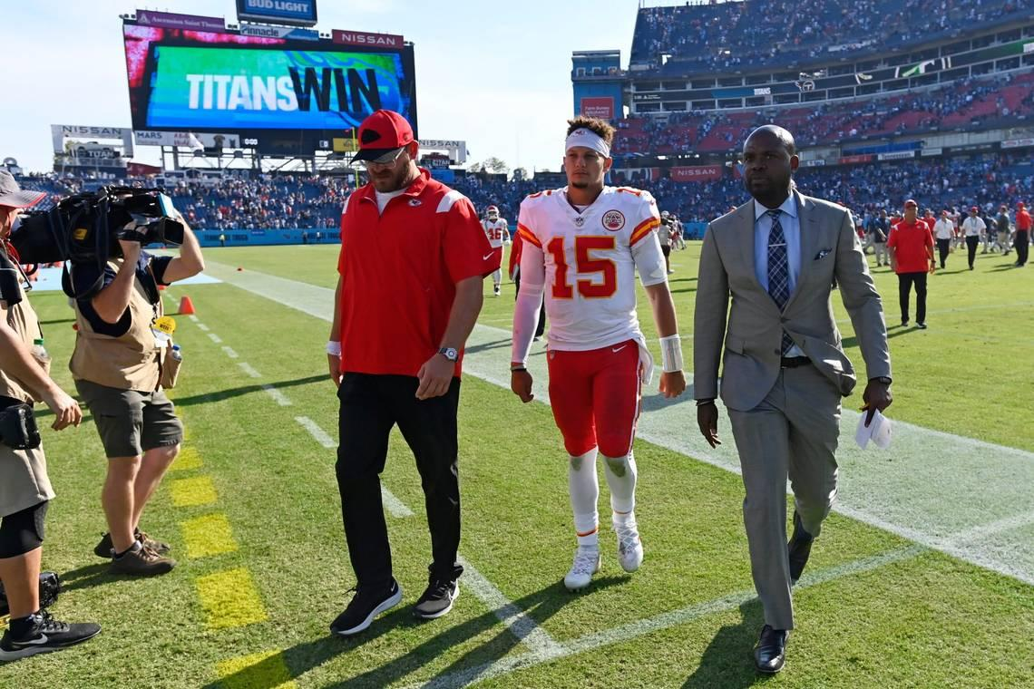 Patrick Mahomes didn't look himself Sunday. Here's why, in the KC Chiefs QB's own words