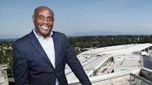Lance Lyttle directs traffic at the nation's fastest-growing airport