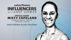 Influencers with Andy Serwer: Misty Copeland