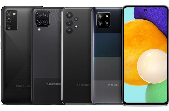 Samsung's new Galaxy A phone lineup includes its cheapest 5G model yet