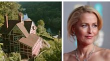 Gillian Anderson's beautiful Sex Education chalet is available to rent