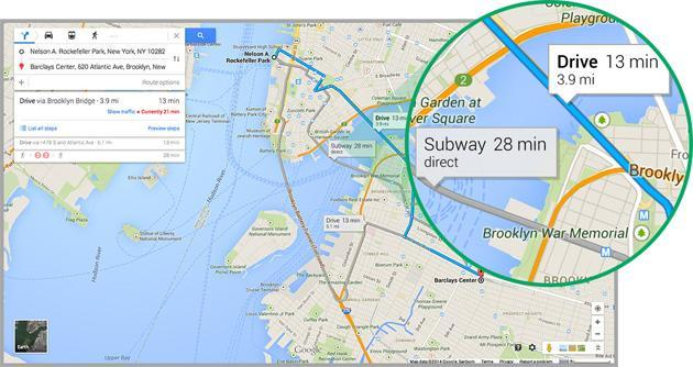 New Google Maps is now rolling out to everyone's desktops