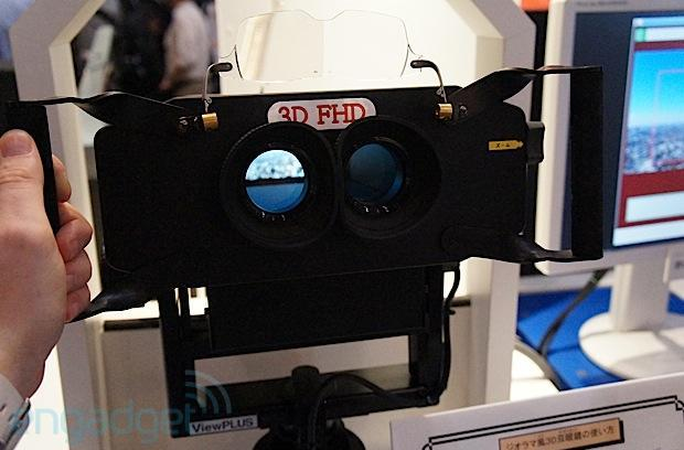 NHK demonstrates 8K 3D digital binoculars: 16x 'lossless' zoom at 1080p (hands-on)
