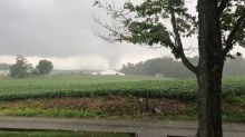 Confirmed Tornado Damages Homes in New Middletown