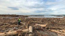 Intempéries dans le Sud-Est : à Saint-Laurent-du-Var, le littoral dévasté