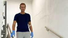 Navalny tells Russia to hand over clothes he was wearing when he fell into coma