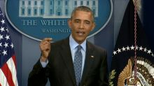 Obama says limiting voting rights hearkens back to Jim Crow era