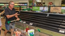 Shocking reason Woolworths shelves stripped bare